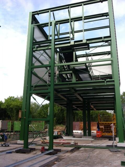 Stahlbau-Halle-Maschinen-Metallbau-Nürnberg